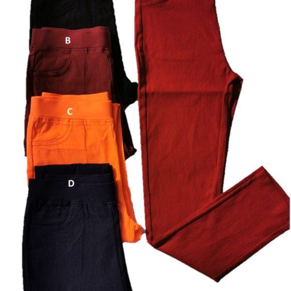 51977-5 Orange, Maroon, Dark Blue, Red, Black